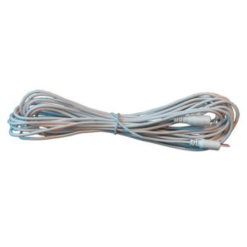 Voeding verlengkabel 8 meter wit (12V)