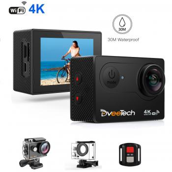 DveeTech Ultra HD (4K) Action Camera S4R
