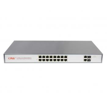 POE31016PFA-AT 16 + 2 poort POE switch 802.3at