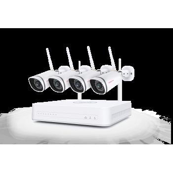 Foscam FN7104W-B4-1T WiFi NVR beveiligingssysteem