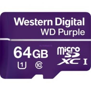 WD Purple SD-Kaart 64GB
