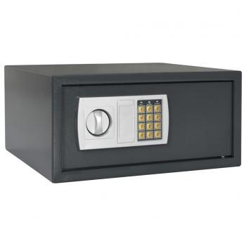 Kluis digitaal 42x37x20 cm donkergrijs
